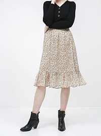 Jacqueline de Yong béžové dámska sukňa Rufus