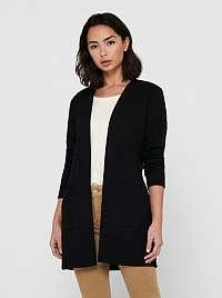 Jacqueline de Yong čierne kabát Napa