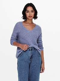 Jacqueline de Yong fialový sveter Megan