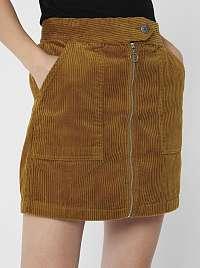 Jacqueline de Yong hnedé dámska sukňa Kira