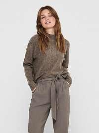 Jacqueline de Yong hnedé dámsky sveter