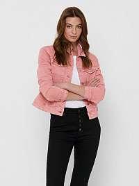 Jacqueline de Yong ružové bunda Windy