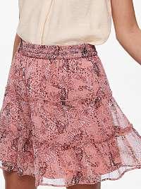 Jacqueline de Yong ružové dámska sukňa Linda