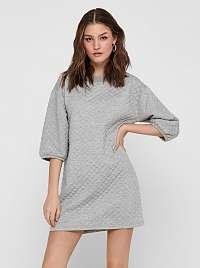 Jacqueline de Yong sivé mikinové šaty Napa