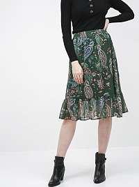 Jacqueline de Yong zelené dámska sukňa