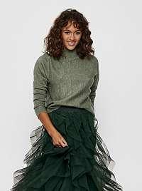 Jacqueline de Yong zelené dámsky sveter