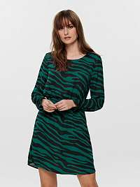 Jacqueline de Yong zelené šaty so vzormi