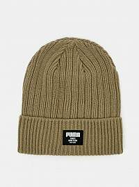 Khaki dámska čiapka Puma