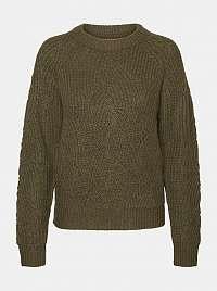 Khaki sveter Noisy May Eden