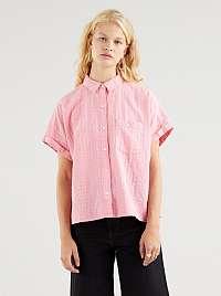 Levi's ružová voľná košeľa