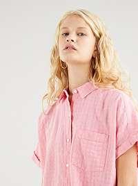 Levi's ružové zapínacia košeľa