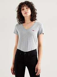 Levi's sivé tričko s logom