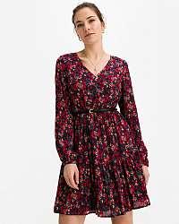 Liu Jo fialové kvetované šaty