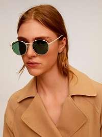 Mango béžové slnečné okuliare Alexis