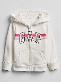 Mikina GAP Logo Biela