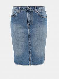 Modrá rifľová sukňa ONLY Eliza
