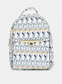 Modro-biely vzorovaný batoh Bessie London