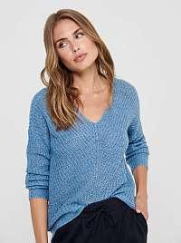 Modrý sveter Jacqueline de Yong