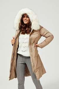 Moodo béžové kabát