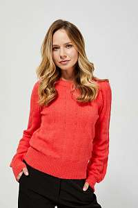Moodo červené sveter