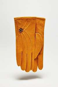 Moodo horčicové rukavice