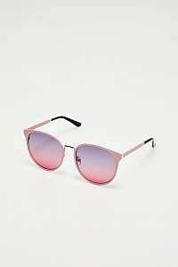 Moodo púdrovo ružové slnečné okuliare
