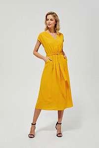 Moodo žlté šaty