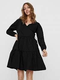 Noisy May čierne voľné šaty Pinar