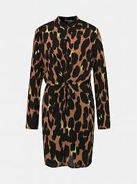 Noisy May hnedé šaty Leo