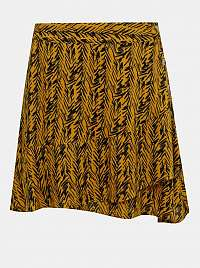 Noisy May oranžové dámska sukňa Beagle