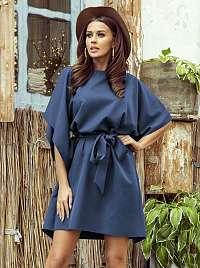 Numoco modré voľné šaty