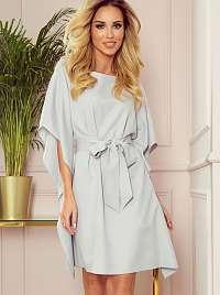 Numoco sivé šaty