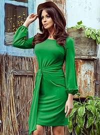 Numoco zelené šaty