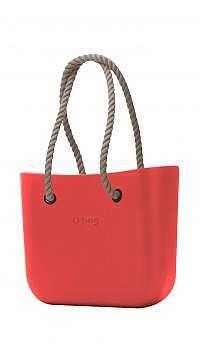 O bag kabelka Fragola s povrazovými rúčkami natural