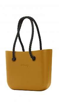 O bag kabelka MINI Narcis s čiernymi dlhými povrazmi