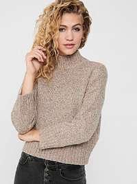 Only béžové dámsky sveter