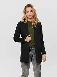 Only čierne kabát Soho