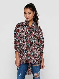 Only farebná vzorovaná košeľa Tamara