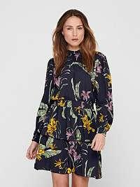 Only farebné kvetované šaty