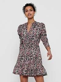 Only farebné kvetované šaty Sylvia