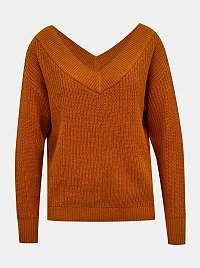 Only hnedé dámsky sveter Melton