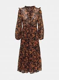 Only hnedé maxi šaty