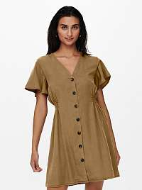 Only hnedé šaty Magne