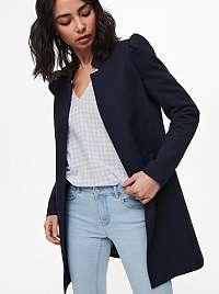 Only modrý ľahký kabát