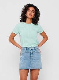 Only zelené basic dámske tričko Fruity