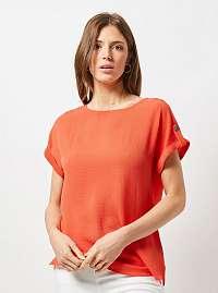 Oranžová blúzka Dorothy Perkins