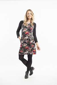 Orientique čierne šaty La Peiosa