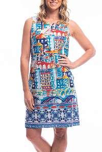Orientique farebné letné šaty Algarve Reversible