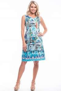 Orientique farebné letné šaty Torre Del Oro so vzormi