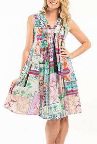 Orientique farebné šaty Zakynthos